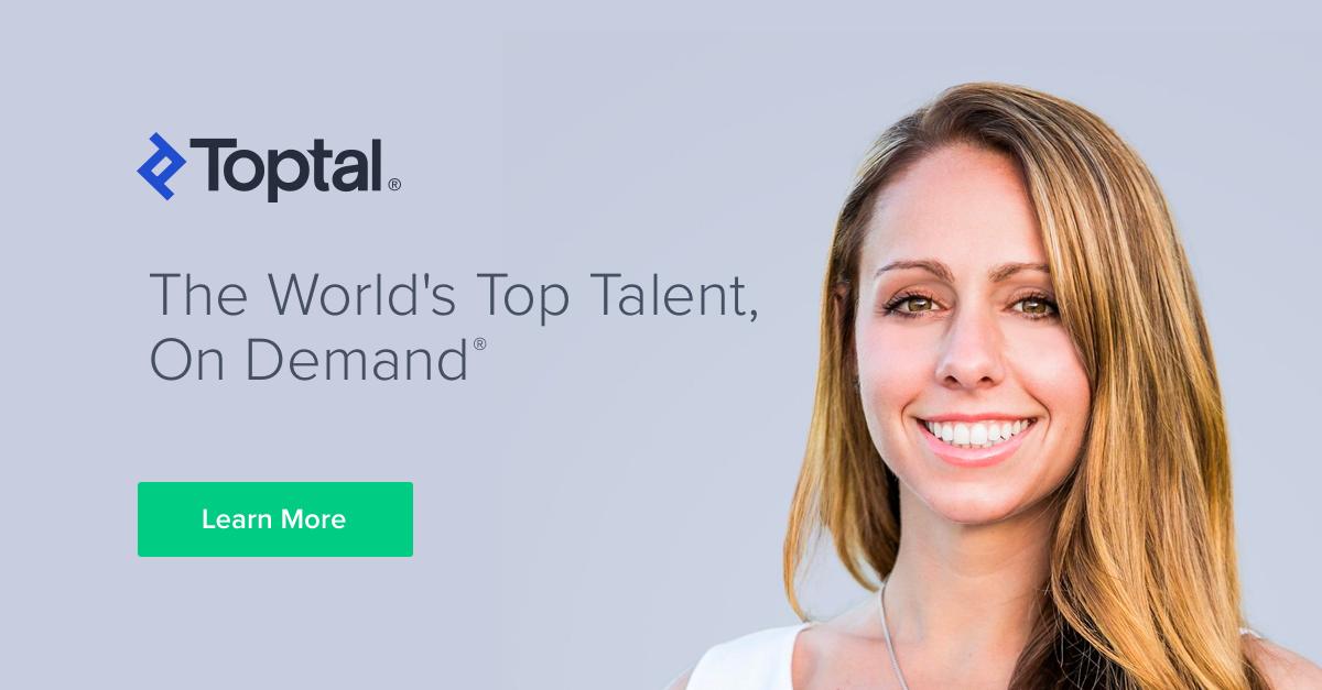 Toptal Freelancing Website for Remote Jobs
