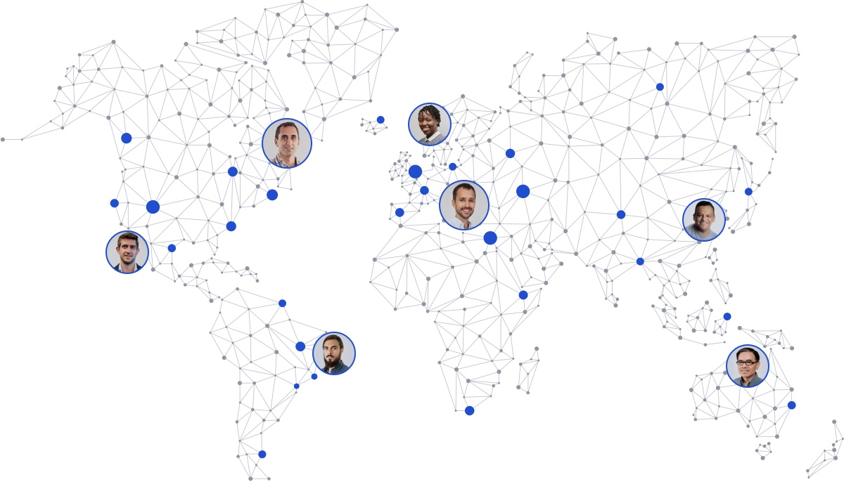 Toptal Network Map